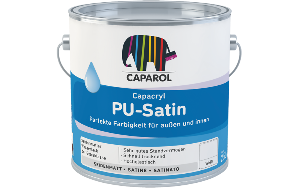 Caparol Capacryl PU-Satin 0,35 Liter | Orange 11