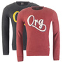 JACK & JONES PULLI JORSTROKE SWEAT, in 2 FARBEN S, M, L, XL, XXL NEU ROT SCHWARZ