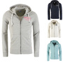 JACK & JONES HERRENJACKE JORLIGHT SWEAT ZIP HOOD, IN 4 FARBEN, S, M, L, XL, XXL