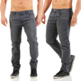 JACK & JONES SLIM FIT JEANS GREY DENIM JJIGLENN JJFELIX JOS 949 NEU