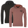 JACK & JONES ORIGINALS KAPUZENPULLOVER JORCHOP SWEAT HOOD, IN 2 FARBEN, S - XL
