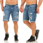 JACK AND JONES RICK DESTROY JEANS SHORTS, 100% BAUMWOLLE, S, M, L, XL, XXL, NEU