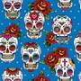 Geschenkpapier Totenkult / Totenkopf DAY OF THE DEAD - 3er Set