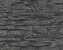 AS Creation 707123 Tapete Wood'n Stone Grau, Schwarz