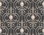 AS Creation 891235 Tapete Hermitage 8 Metallic, Schwarz