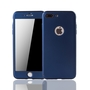 Apple iPhone 7 Plus Handy-Hülle Schutz-Case Cover Panzer Schutz Glas Blau