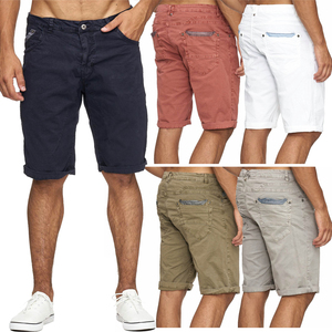 Max Men Herren 3/4 Chino Shorts Hose