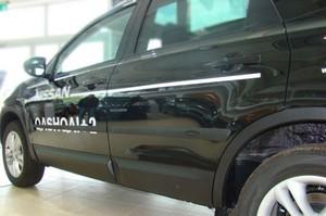Seitenleisten-Satz für Nissan Qashqai SUV 5-Türer  2007-2013