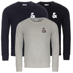 JACK & JONES JJECHEST LOGO SWEAT CREW NECK NOOS