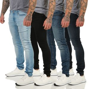 JACK & JONES JEANS LIAM2020 SKINNY JEANS STRETCH DENIM 29-36 in 4Farben