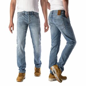 JACK & JONES JEANS JJIFOX AM 967 NOOS HERREN JEANS SLIM FIT 29-36