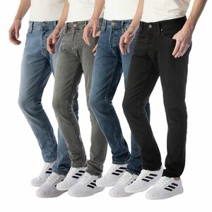 JACK & JONES JEANS GLENN NA Slim Fit Stretch 28 bis 38