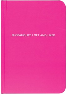 Archie Grand Notizbuch - Shopaholics I met and liked