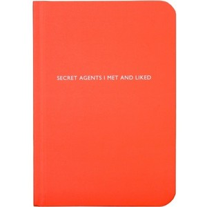 Archie Grand Notizbuch - Secret Agents I met and liked