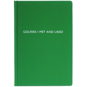 Archie Grand Notizbuch - Golfers I met and liked