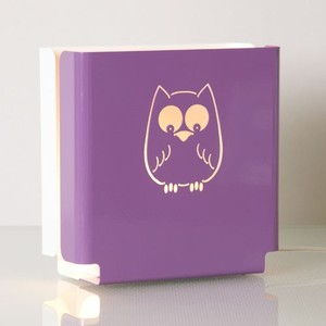 colaro Lampe - Molight Owl, purple