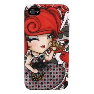 Kimmidoll Love iPhone 4 Backcover-Schutzhülle - Lacy Luck