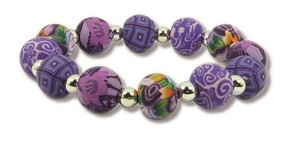 Hergo Collection Armband 12 mm - Lavender Love, lila