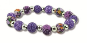 Hergo Collection Armband 9 mm - Lavender Love, lila