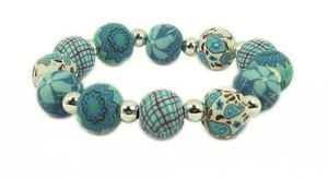 Hergo Collection Armband 12 mm - Summer Sky, hellblau