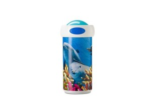 Rosti Mepal Campus Verschlussbecher 275 ml - Animal Planet Delphin