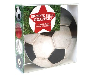 Gift Republic Bierdeckel-Set - Sports, 24-teilig