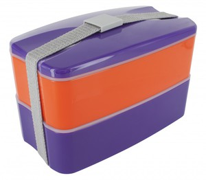 Pylones Bento Behälter purple-orange