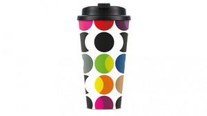 Remember Thermo-Trinkbecher To Go - Travelmug Dots