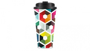 Remember Thermo-Trinkbecher To Go - Travelmug Hexagon