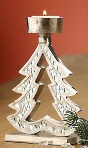 Teelichthalter Gilde Engel Metall Keramik Spiegelmosaik gold Herz Weihnachten