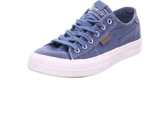 DOCKERS by Gerli 40DN001 Herren Sneaker Washed Canvas Schuhe Blau