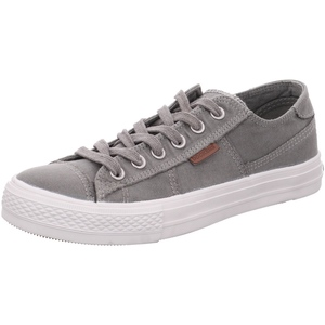 DOCKERS by Gerli 40DN001 Herren Sneaker Washed Canvas Schuhe Grau