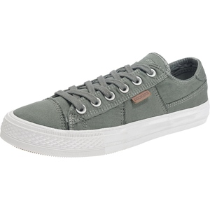 DOCKERS by Gerli 40DN001 Herren Sneaker Washed Canvas Schuhe Khaki
