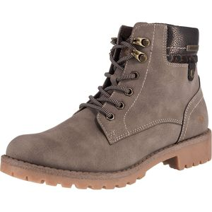 Dockers by Gerli Damen Stiefel Dessert Boots Combat Boots Taupe