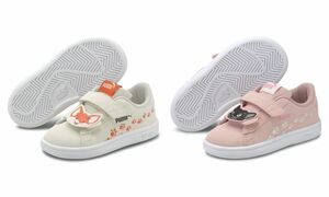 Puma Smash v2 Animals V Inf Low Top Kinder Schuhe Sneaker
