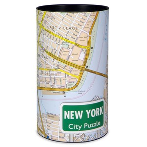City Puzzle - New York von Extragoods