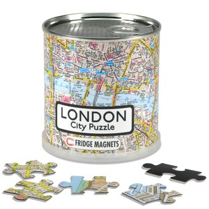 City Puzzle Magnets - London von Extragoods