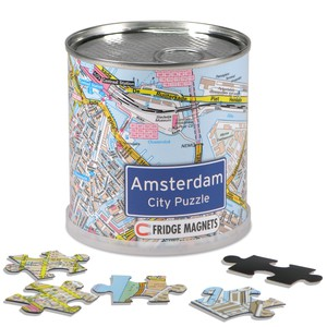 City Puzzle Magnets - Amsterdam von Extragoods