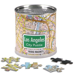 City Puzzle Magnets - Los Angeles von Extragoods