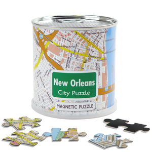 City Puzzle Magnets - New Orleans