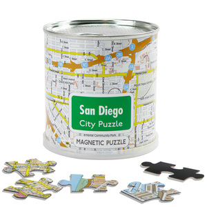 City Puzzle Magnets - San Diego