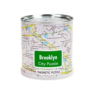 City Puzzle Magnets - Brooklyn