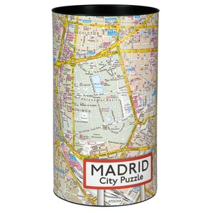 City Puzzle - Madrid von Extragoods