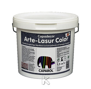 CAPAROL Capadecor Arte-Lasur Color | CD Arte-Lasur Color Livorno 2,5 LT