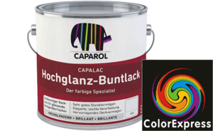 Capalac Hochglanz-Buntlack 0,375 Liter | Off White 20