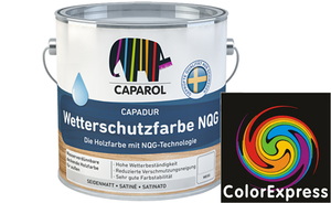 Caparol Capadur Color Wetterschutzfarbe 0,75 Liter | Orange 0
