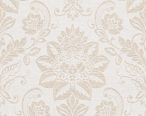 AS Creation 293442 Tapete OK 6 Beige, Creme, Metallic