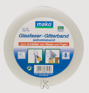 Mako Glasfaser-Gitterband 8327-20 50mm x 20m