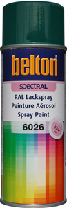 belton Lackspray RAL 6026 Opalgrün - 400ml Spraydose