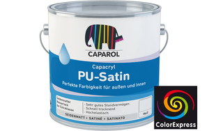 Caparol Capacryl PU-Satin 0,35 Liter | Orange 9